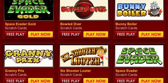32Red Scratch Card Bonuses