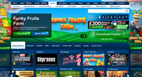 Betfred Casino Promos
