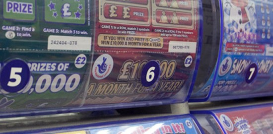 Camelot Scratch Card Error