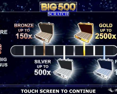 Big 500 Scratch Card
